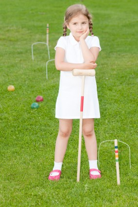 This fresh-looking croquet player is as cute as a button. Photo by iStock.