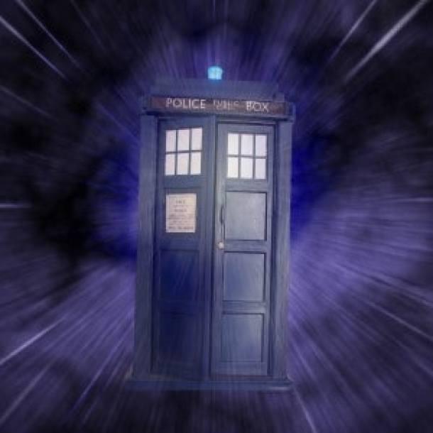 Transform a cardboard box into Dr. Who's Tardis.