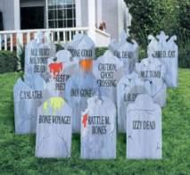 Halloween tombstones2