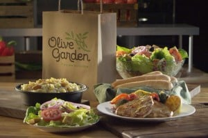 Olive Garden offers 15% off catering or ToGO orders