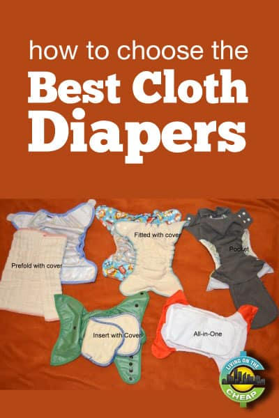Great analysis of the best cloth diapers available for baby.