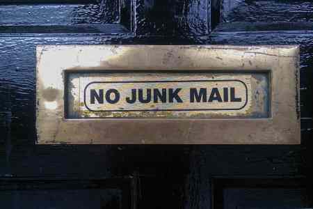 How to get rid of junk mail (before it arrives)