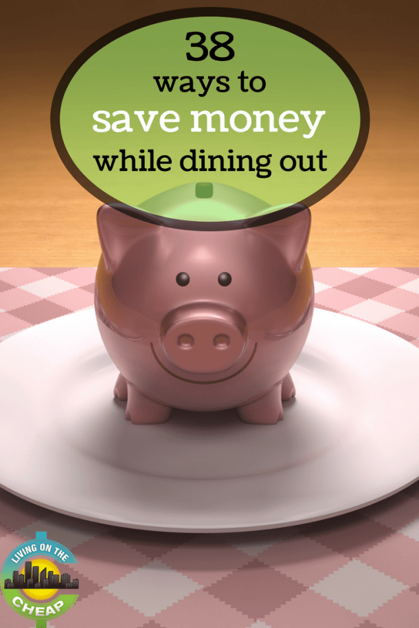 We all have days when we don't feel like cooking, but dining out can be so expensive and you should never spend money you don't have in hand. Saving money takes some planning on the front end. Here are 35 ways to help you dine out for less.
