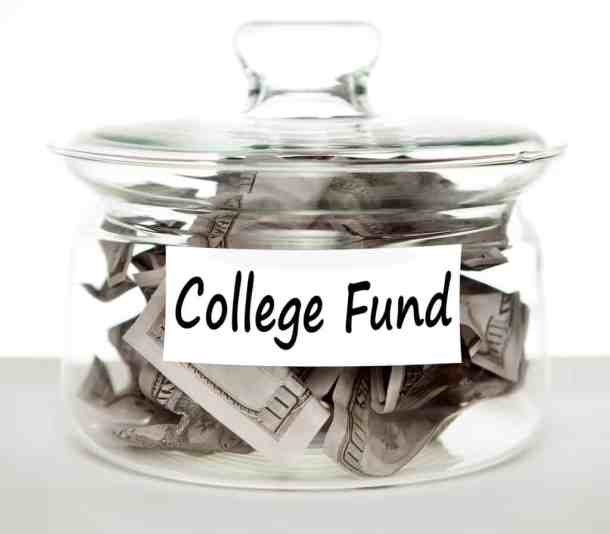 college fund money jar