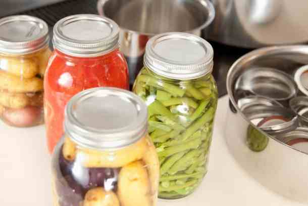 Preserve food at home with cheap canning equipment and free recipes the easiest foods to preserve include jams tomatoes salsas fruits vegetable relish and pickled vegetables forumfinder Gallery