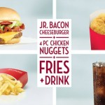 Wendy's 4 For $4 meal deal — 8 sandwich options