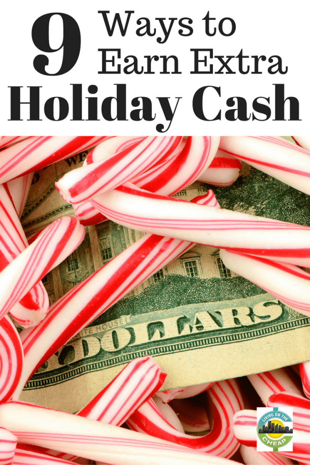 Sometimes the money ends before the month ends. And, at this time of year, we're all confronted with extra expenses - gifts, parties, family meals and, depending on where you live, higher heating bills. How can you bring in extra money to pay for it all? Luckily, you have options. Here are a few ideas!