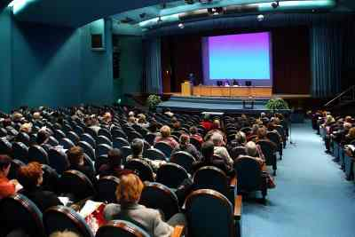 conference speaker can be a great job for retirees