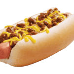 SONIC Drive-In: All-American or chili cheese hot dog for $1
