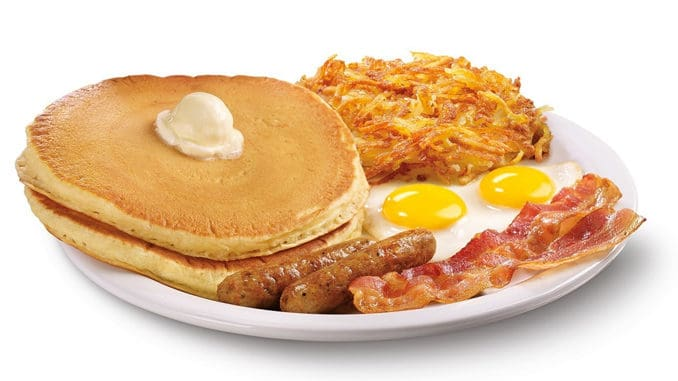 photograph about Denny's Printable Coupons named Dennys Tremendous Slam for $5.99