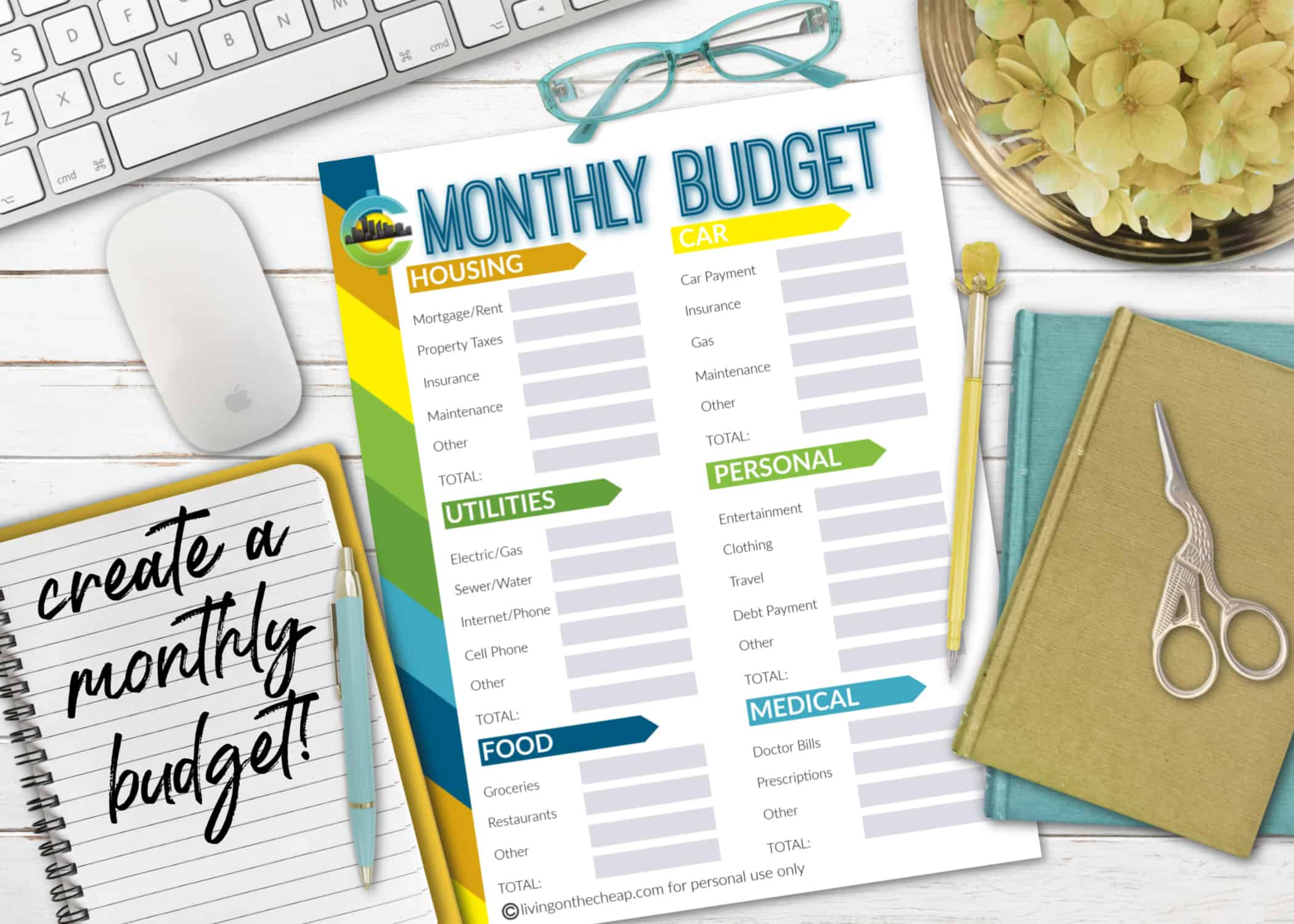 Free Printable Budget Sheets To Help You Manage Your Money
