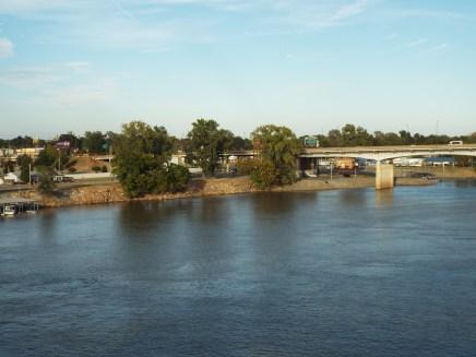 Arkansas River in Little Rock