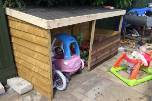 Outdoor Toy storage Ideas – How To Plan Functional Storage In Your Backyard