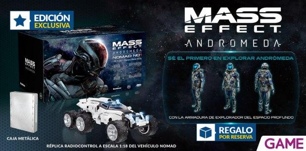 GAME traerá Edición Nomad Mass Effect Andromeda