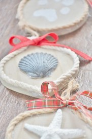 coastal, nautical, seashell, starfish, paw print christmas ornaments (5) - Copy (427x640)