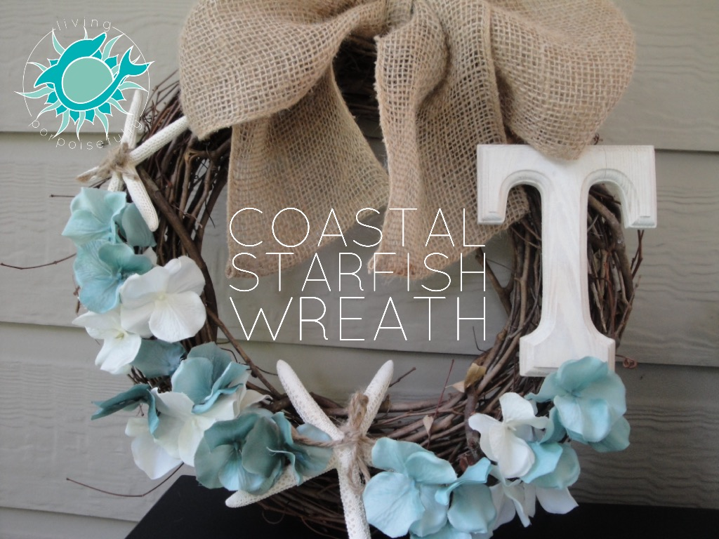DIY Coastal Sea Star Wreath