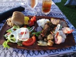 hawaiian luau feast