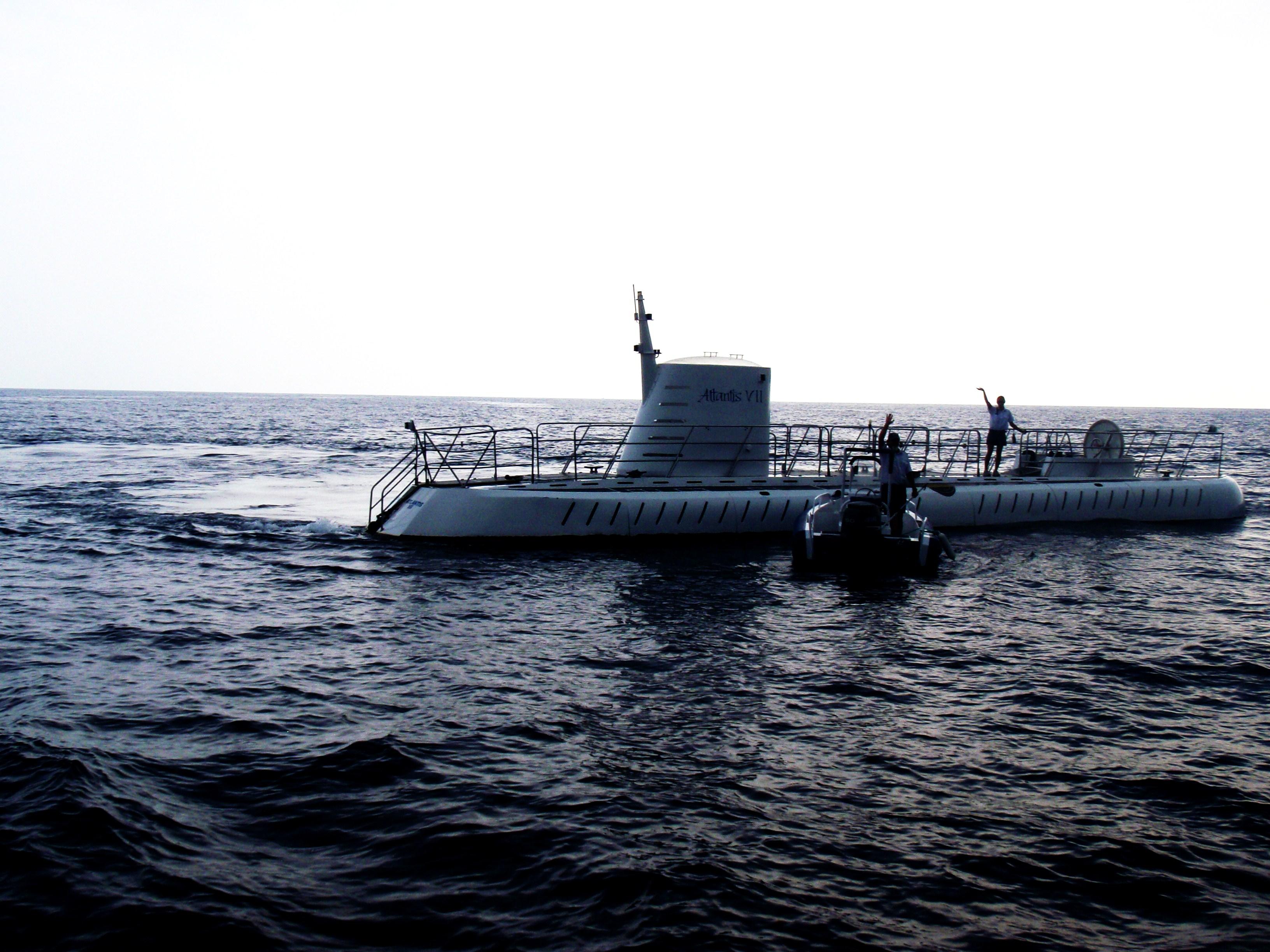 submarine ride in hawaii