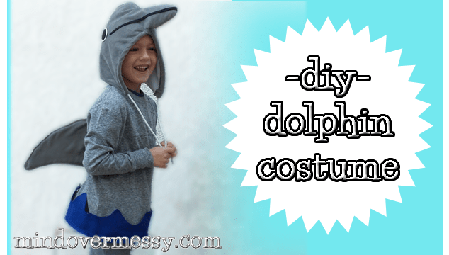 diy dolphin costume