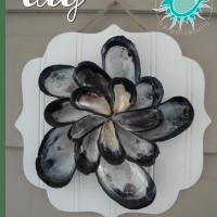 DIY Mussel Shell Bloom