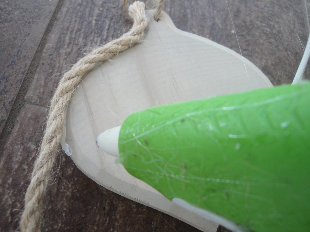 diy nautical rope ornament