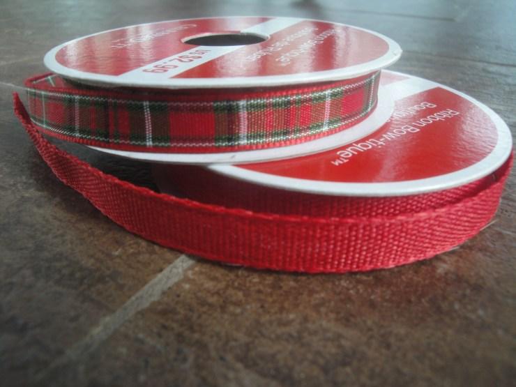 ribbon for ornaments