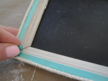 undersea chalkboard name plate step 6b