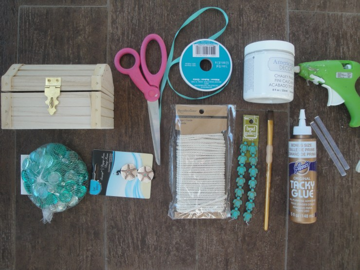 undersea treasure chest supplies