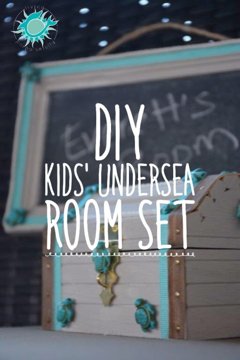 DIY Kids' Undersea Room Set