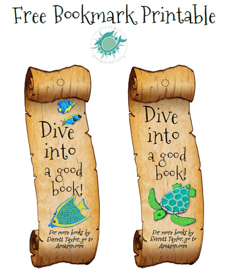 Undersea Bookmark Printable (Freebie!)