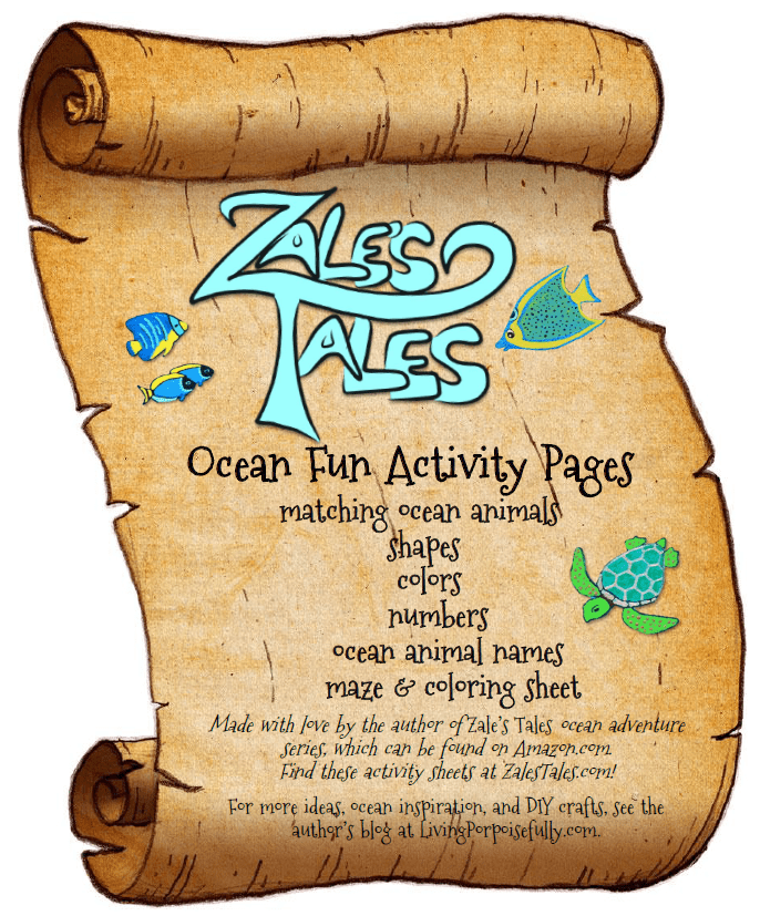 Ocean Fun Activity Pages (FREE Printables!)