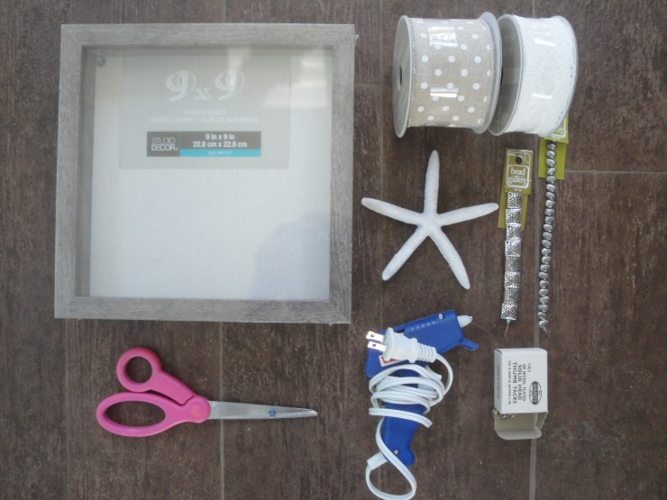 coastal shadowbox supplies