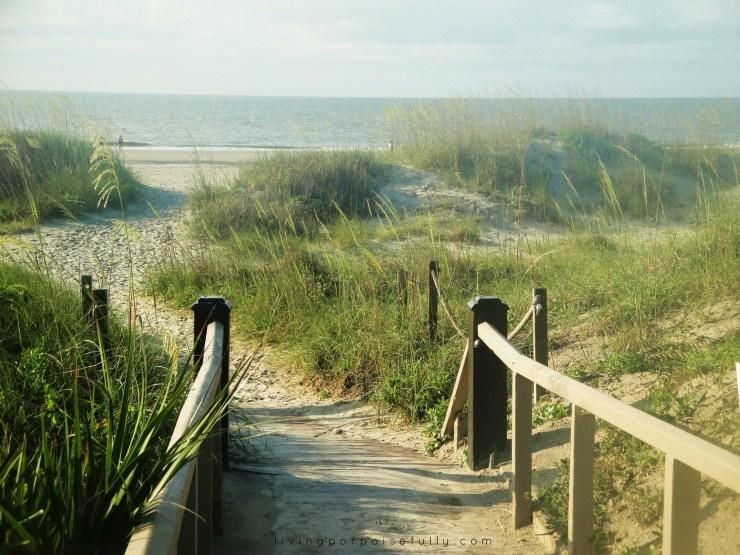 Hilton Head Island path to the beach