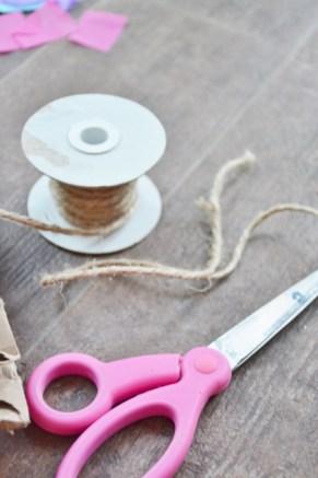 Jellyfish Craft Kit - cut twine