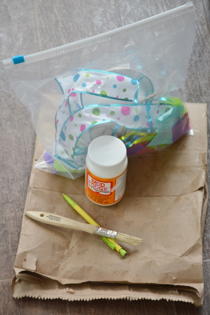 Jellyfish Craft Kit - supplies needed for craft day