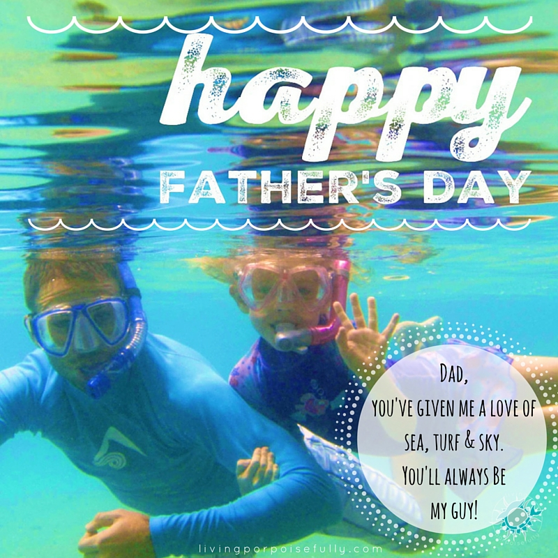 A Father's Day Greeting for a Sea-Turf-Sky Kind of Guy