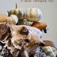 "Our DIY Thanksgiving ""Conch-ucopia"""