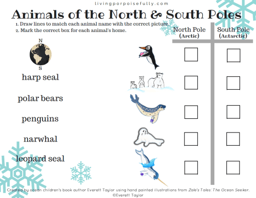 animals-of-the-north-and-south-poles