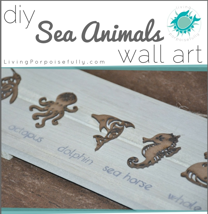 DIY Sea Animals Wall Art