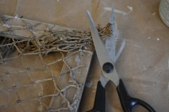 fishing net frame diy 10