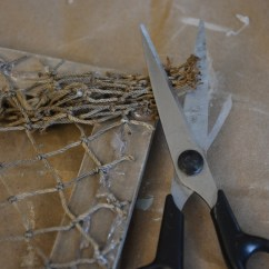 fishing net frame diy 10