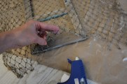 fishing net frame diy 3