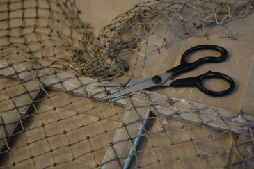 fishing net frame diy 5