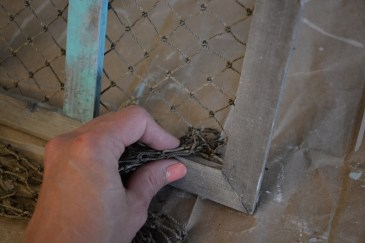 fishing net frame diy 7