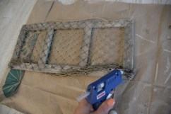 fishing net frame diy 9