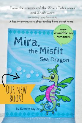Mira the Misfit Sea Dragon by Everett Taylor