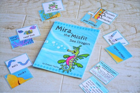 Mira the Misfit Sea Dragon matching game ocean animals and habitats (2)