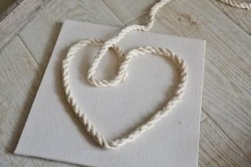 rope seashell shadowbox step 1b