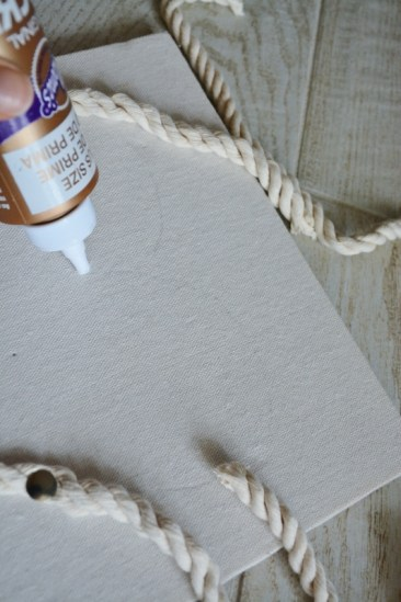 rope seashell shadowbox step 2b