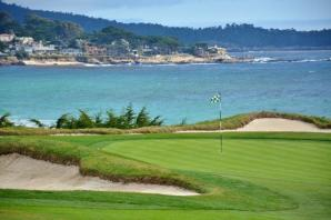 Pebble Beach golf course 11